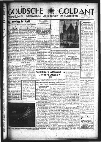 Goudsche Courant 1942-09-30