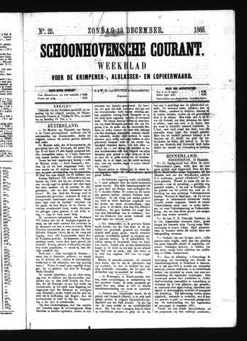 Schoonhovensche Courant 1869-12-19