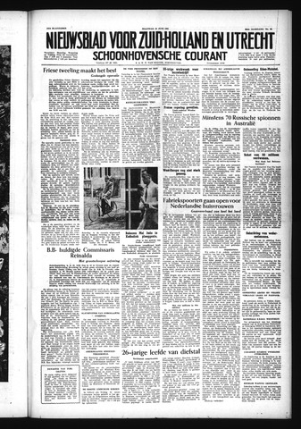 Schoonhovensche Courant 1954-06-14