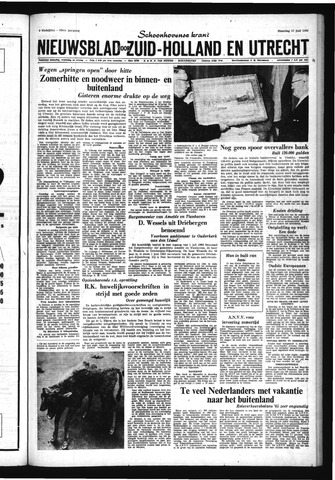 Schoonhovensche Courant 1966-06-13