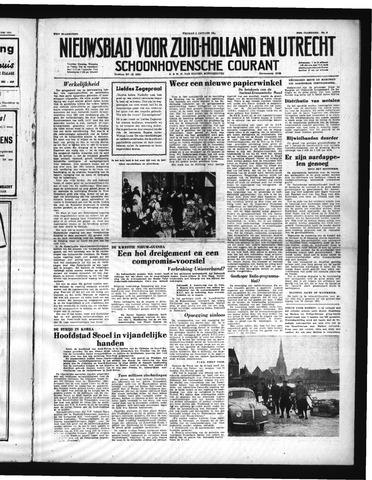 Schoonhovensche Courant 1951-01-05