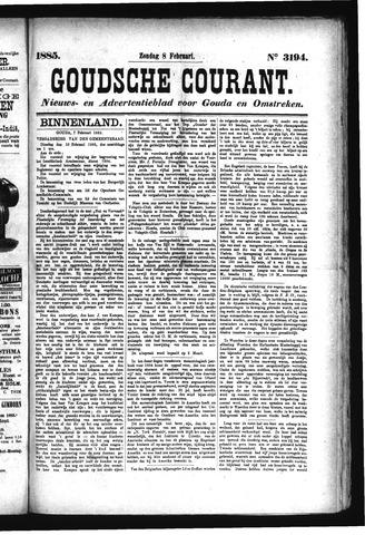 Goudsche Courant 1885-02-08