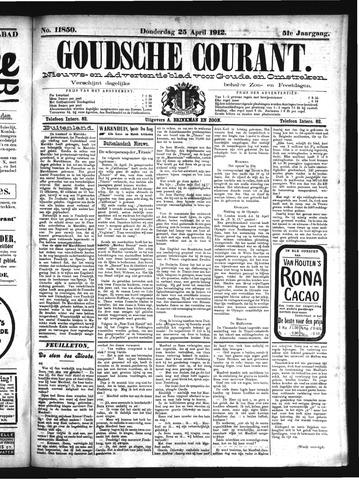 Goudsche Courant 1912-04-25
