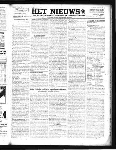 Schoonhovensche Courant 1946-04-19