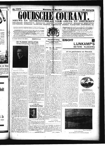 Goudsche Courant 1931-05-13