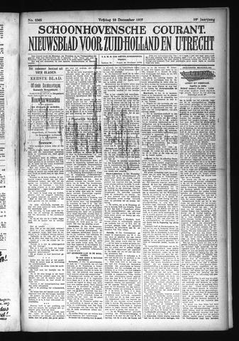 Schoonhovensche Courant 1927-12-16