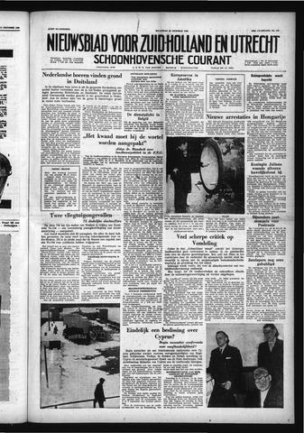 Schoonhovensche Courant 1958-10-20