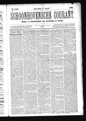 Schoonhovensche Courant 1896-04-11