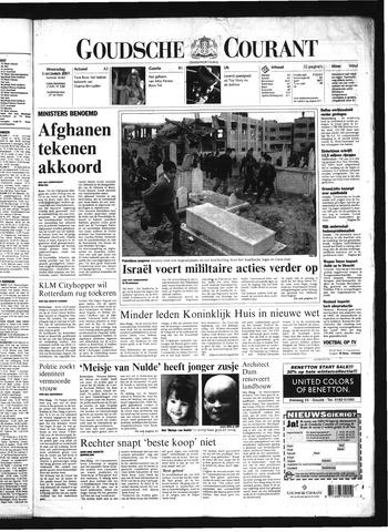 Goudsche Courant 2001-12-05