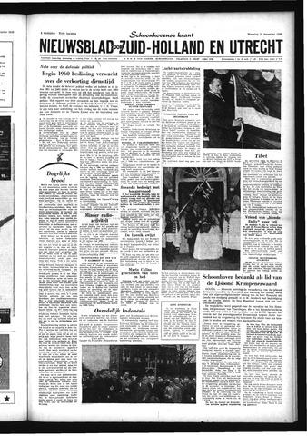 Schoonhovensche Courant 1959-11-16