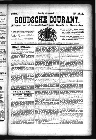 Goudsche Courant 1889-01-12