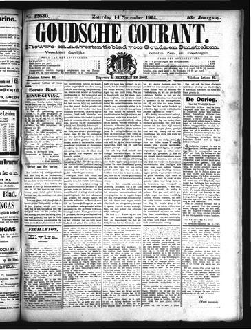 Goudsche Courant 1914-11-14