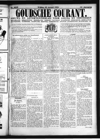 Goudsche Courant 1934-01-26