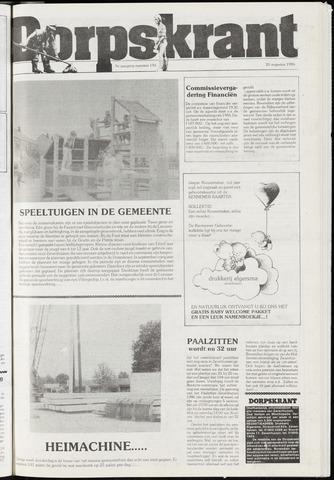Dorpskrant 1986-08-20