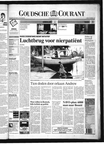 Goudsche Courant 1992-08-25