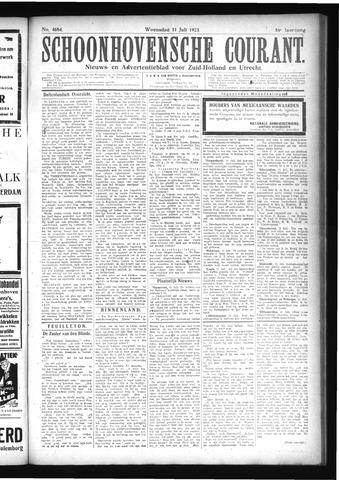 Schoonhovensche Courant 1923-07-11