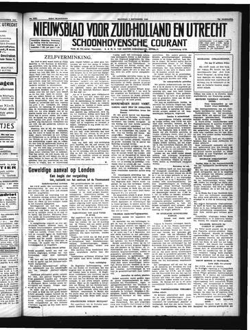 Schoonhovensche Courant 1940-09-09