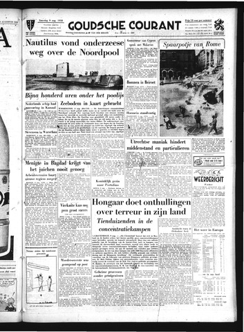 Goudsche Courant 1958-08-09
