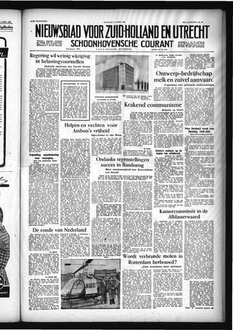 Schoonhovensche Courant 1955-04-25