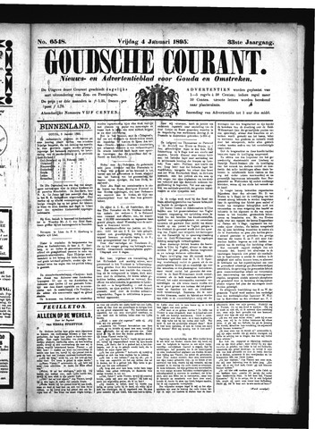 Goudsche Courant 1895-01-04