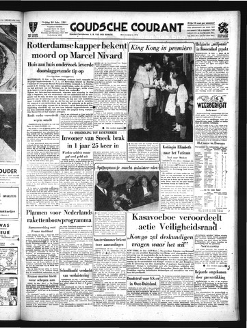 Goudsche Courant 1961-02-24