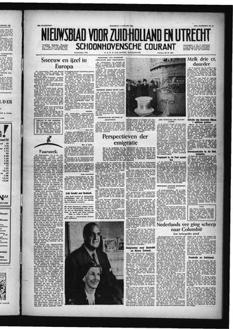 Schoonhovensche Courant 1955-01-05