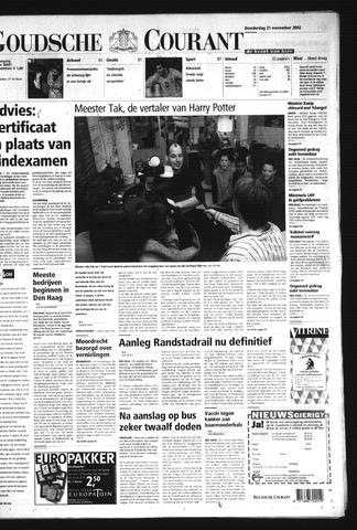 Goudsche Courant 2002-11-21