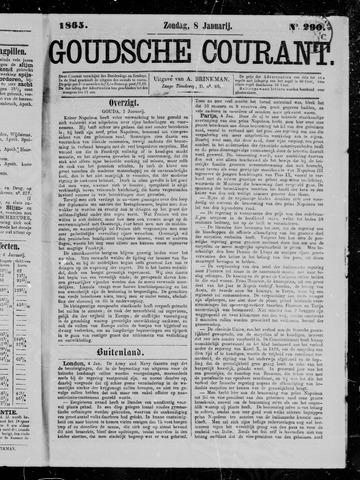 Goudsche Courant 1865-01-08