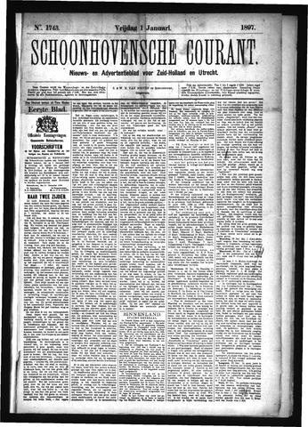Schoonhovensche Courant 1897
