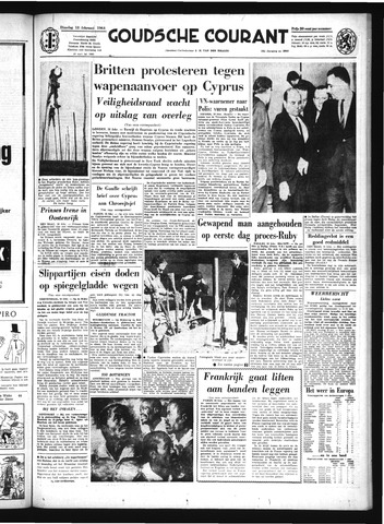 Goudsche Courant 1964-02-18