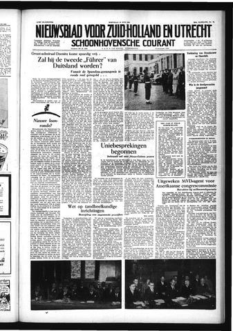 Schoonhovensche Courant 1954-06-30