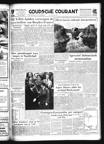Goudsche Courant 1954-08-20