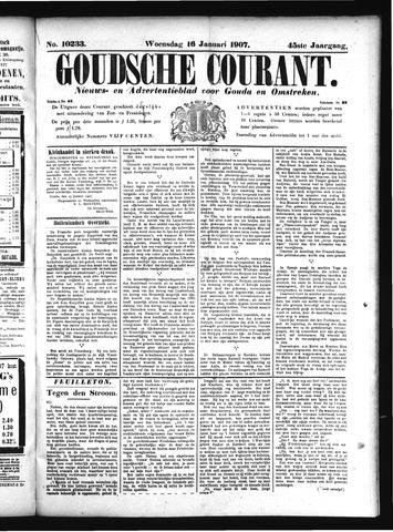 Goudsche Courant 1907-01-16
