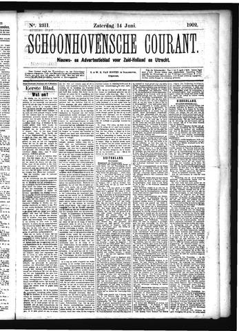 Schoonhovensche Courant 1902-06-14