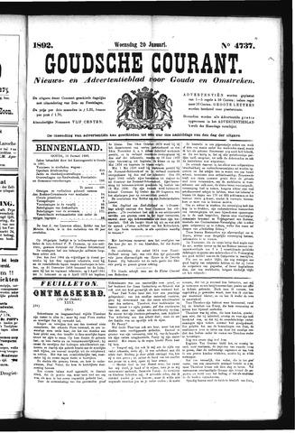 Goudsche Courant 1892-01-20