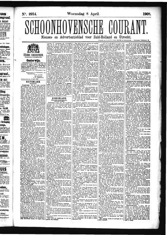 Schoonhovensche Courant 1908-04-08