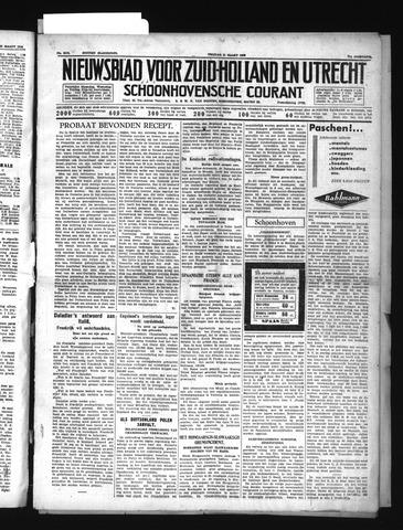 Schoonhovensche Courant 1939-03-31
