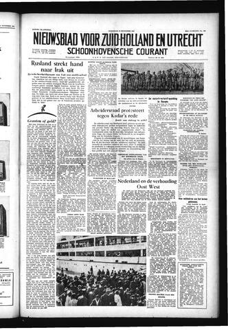 Schoonhovensche Courant 1956-11-28