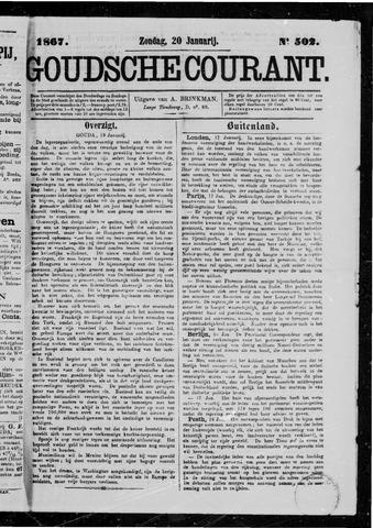 Goudsche Courant 1867-01-20
