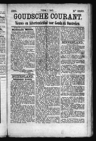 Goudsche Courant 1881-04-01