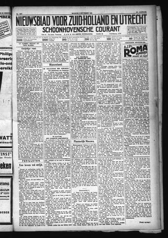 Schoonhovensche Courant 1929-09-02
