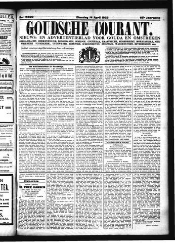 Goudsche Courant 1925-04-14