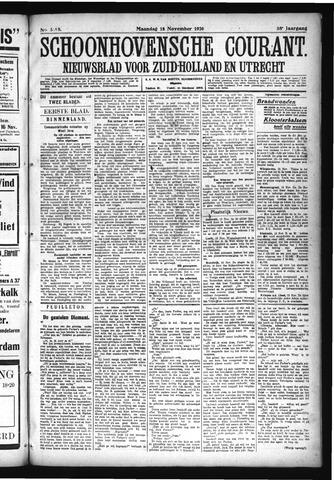 Schoonhovensche Courant 1926-11-15