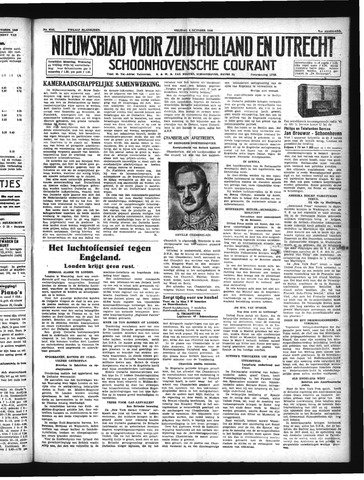 Schoonhovensche Courant 1940-10-04
