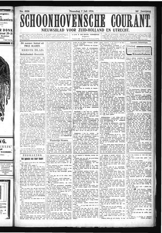 Schoonhovensche Courant 1924-07-07