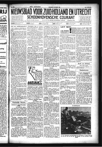 Schoonhovensche Courant 1933-10-02
