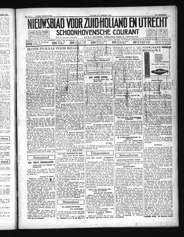 Schoonhovensche Courant 1937-02-26