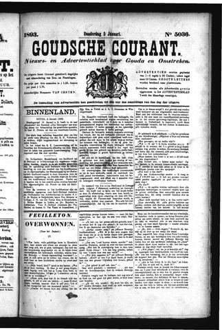 Goudsche Courant 1893-01-05