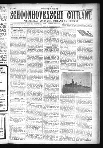 Schoonhovensche Courant 1925-06-10