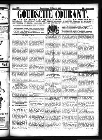 Goudsche Courant 1928-04-19